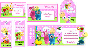 Kit Imprimible Baby Tv Tarjetas Cumpleanos Invitacion Cumple Kit