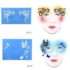 makeup stencils for face uk saubhaya