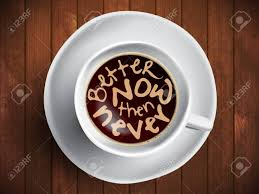 coffee cup time lettering motivation quotes about time
