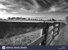 Rail Fence Black And White Stock Photos Images Alamy