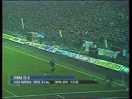 Legia 0 1 Inter Coppa UEFA 198586 - Vídeo Dailymotion