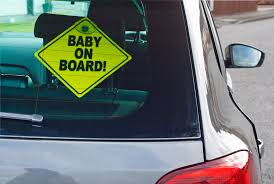 Baby On Board How A Cutesy Decal Embodies The Enduring Terror Of Parenthood The Washington Post