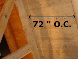 roof decking wide board loft flooring