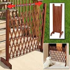 Expanding Fence Taylor Gifts Diy Dog Gate Portable Fence Wooden Fence