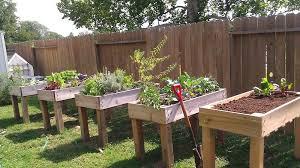 raised planter box plans thinklikeme co