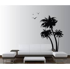 Isabelle Max Palm Coconut Tree With Seagull Birds Nursery Wall Decal Reviews Wayfair