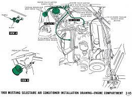 1968 mustang wiring diagrams and vacuum