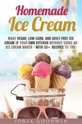 homemade ice cream make vegan low