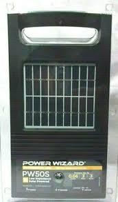 Power Wizard Solar Pw50s Energizer For Sale Online Ebay