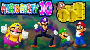 mario party 10 wii u coin challenge 2