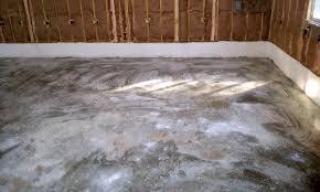 acid etching a garage floor work