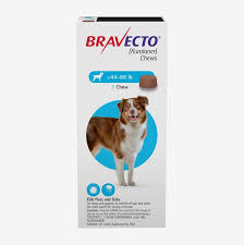 Bravecto is one pill every 3 months for fleas and ticks.