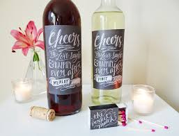 free diy wine label templates for any