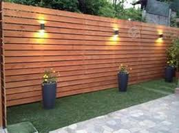 28 Gorgeous Front Fence Lighting Ideas To Apply Now Patio Fence Privacy Fence Designs Fence Design