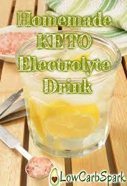 homemade keto electrolyte drink how