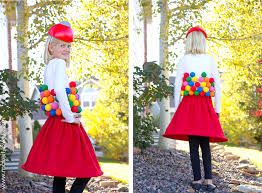 gumball machine costume a very low
