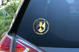 Ar 2070 6 Th Armored Cavalry Calvary Regiment Army Military Bumper Sticker Decal For Sale Online Ebay