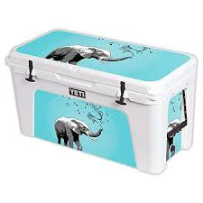 Buy Mightyskins Protective Vinyl Skin Decal For Yeti Tundra 110 Qt Cooler Wrap Cover Sticker Skins Musical Elephant Features Price Reviews Online In India Justdial