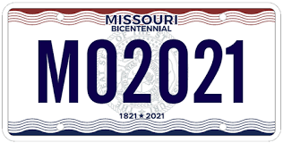 about missouri license plates