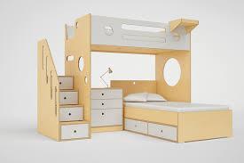 Marino L Shaped Bunk Bed