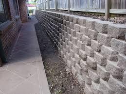 retaining wall blocks menards