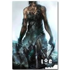 Lara Croft Rise Tomb Raider Art Silk Fabric Poster Print 13x20 Inch Game Pictures Living Room Wall 016 With Free Shipping Worldwide Weposters Com
