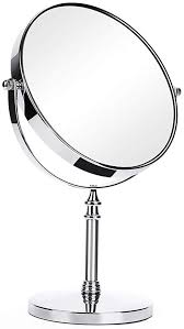 double sided 1x 10x makeup mirror