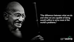 gandhi quotes mahatma gandhi quotes author of three