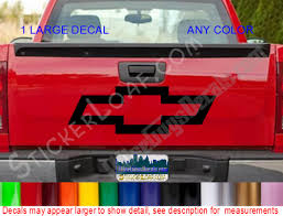 Car And Truck Decals Stickerloaf Artfire Shop Large Decal Chevy Stickers Custom Decals