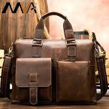 briefcase genuine leather laptop bags