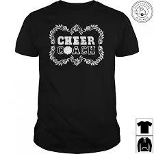 cheer coach shirt cheerleading coach