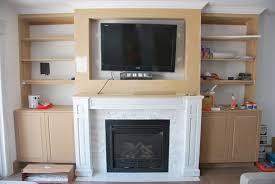 build gorgeous diy fireplace built ins