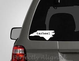 Home State North Carolina Tarheel Vinyl Car Decal Home State Etsy