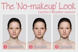 no makeup look the untrendy