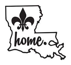 Louisiana Home Decal Personalized Gifts Like Shirts And Decals Louisiana Art Louisiana Tattoo Cricut Projects Vinyl