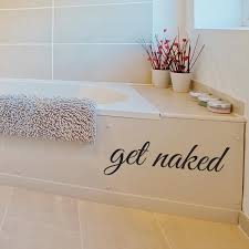Get Naked Wall Decal Wall Decal World
