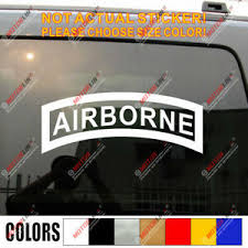 Airborne Ranger Elite Decal Sticker Army Car Vinyl Die Cut Pick Size Color Ebay