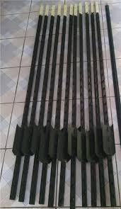 steel stakes metal fence post