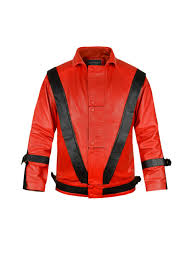 michael jackson thriller kids leather