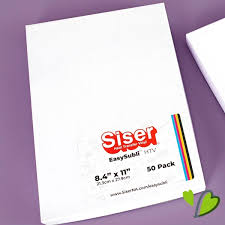 Siser Easysubli Sheets 50 Pack Happy Crafters