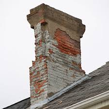how to fix an ugly chimney crumbling