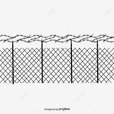 Barbed Wire Fence Black Hand Painted Barbed Wire Png Transparent Clipart Image And Psd File For Free Download