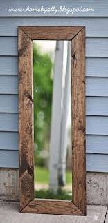 15 diy mirror with images rustic