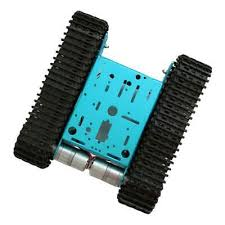 tank track diy smart robot car chassis