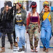 Pin by Ida Butler on Locs   Rihanna outfits, Rihanna style, Rihanna looks