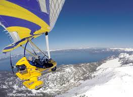 the experience hang gliding tahoe