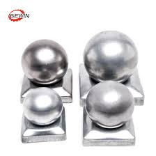 China Ball Tops Metal Material Wood Fence Post Cap China Cap Fence Post Cap