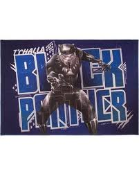 Hot Deal 28 Off Marvel Black Panther Kids Blue Area Rug 31197