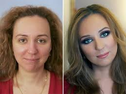never trust a woman in make up