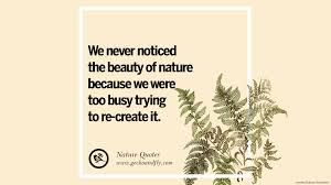 beautiful quotes about saving mother nature and earth